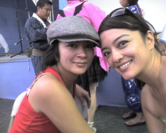 Arlene and Ardith at 2009 LA Obon Festival