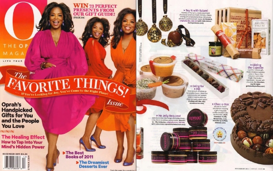 December 2011 issue of O Magazine